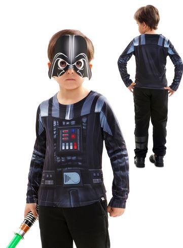 Camiseta Darth Vader hiperrealista nino