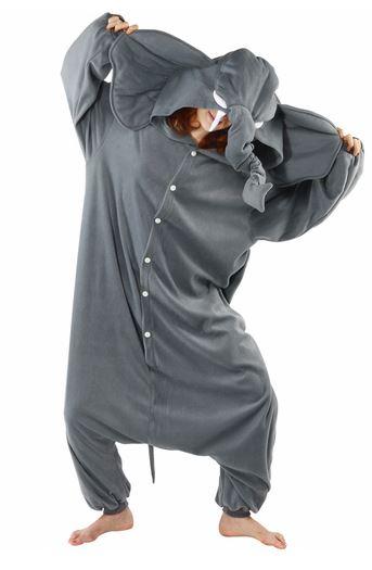 Disfraces elefante onesie
