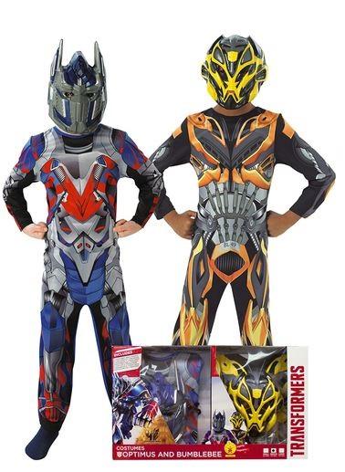 Disfraz de Transformers Bumblebee Optimus Prime niño