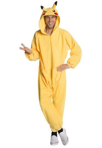 Disfraz Pikachu onesie