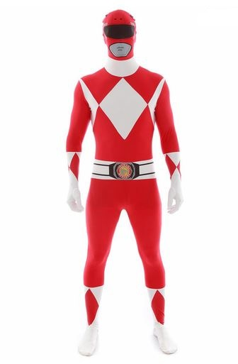 Disfraz Power Ranger Morphsuit