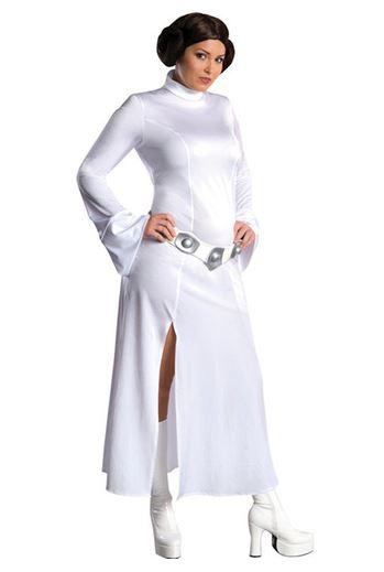Disfraz Princesa Leia talla grande