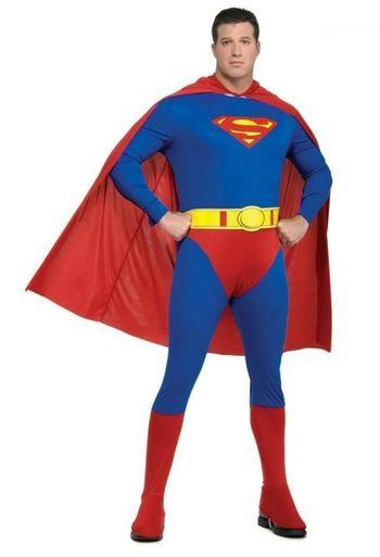 Disfraz Superman talla grande