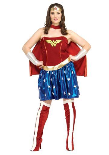 Disfraz Wonder Woman talla grande