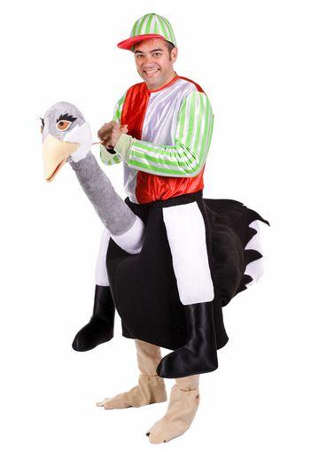 Disfraz avestruz ride on