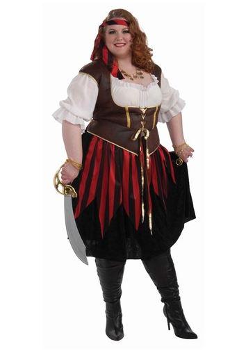 Disfraz corsaria talla grande