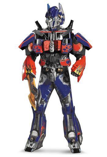 Disfraz de Transformers Optimus Prime Dark of the Moon Élite para adulto