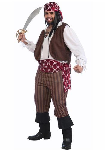 Disfraz pirata talla grande