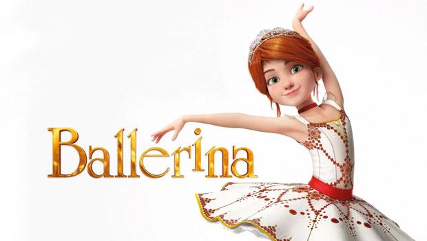 Dessin animé ballerina