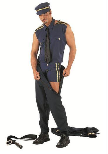 disfraz policia stripper sexy