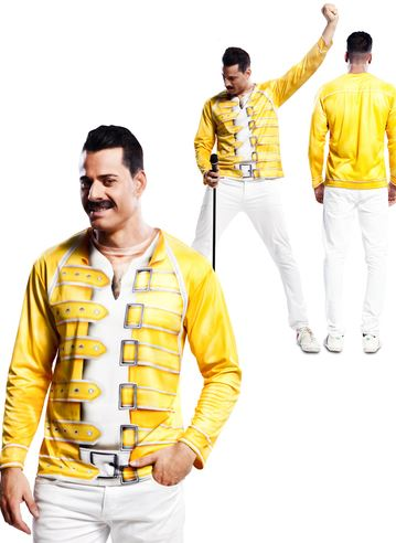 Camiseta Fredy Mercury Queen