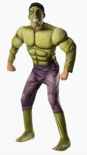 Disfraz Hulk hombre