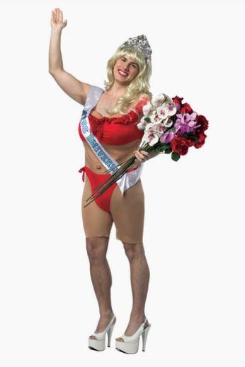 Disfraz Miss Universo hombre