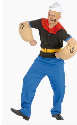 Disfraz Popeye