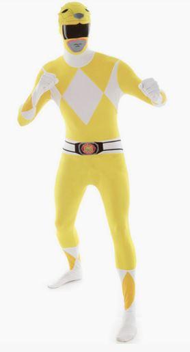 Disfraz Power Ranger amarillo