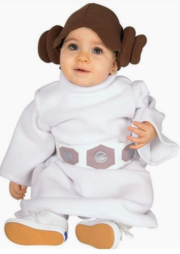 Disfraz Princesa Leia Bebe