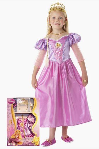 Disfraz Rapunzel nina