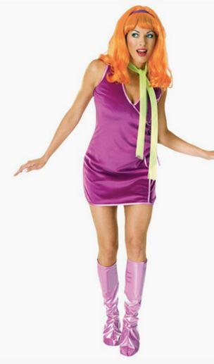 Disfraz daphne Scooby Doo