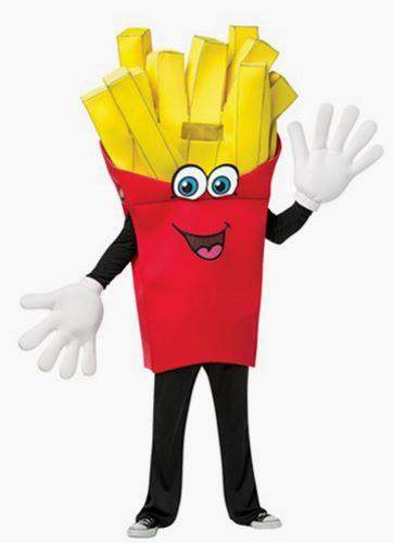 Disfraz patatas fritas
