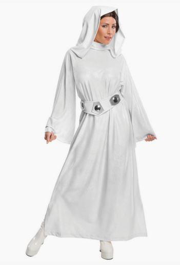Disfraz princesa Leia deluxe