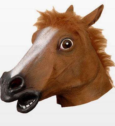 mascara caballo loco