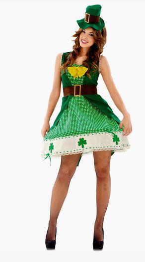 Disfraz Leprechaun mujer
