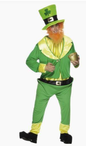 Disfraz Leprechaun verde