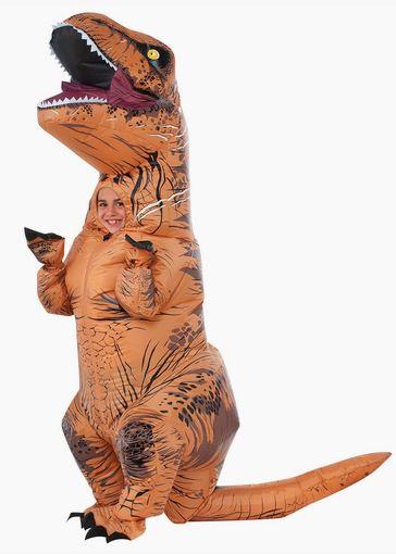 Disfraz T Rex hinchable nino