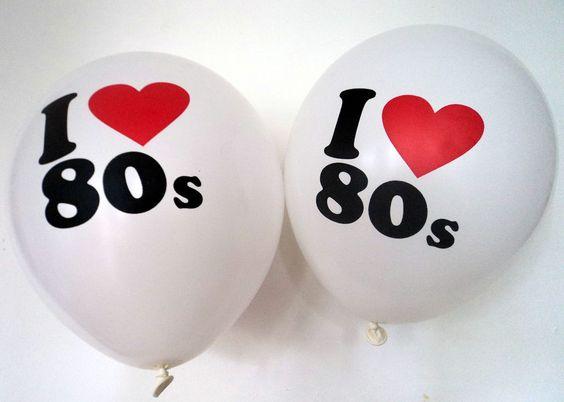 Globos de los 80