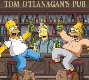 San Patricio Simpsons