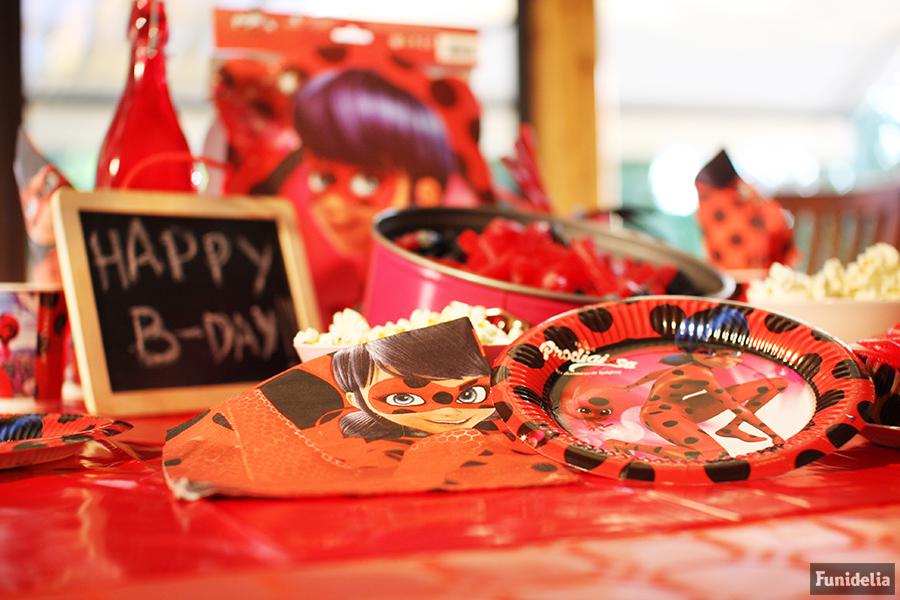 ddb8abbeb Fiesta de cumpleaños de Ladybug  decoración de cumpleaños Prodigiosa