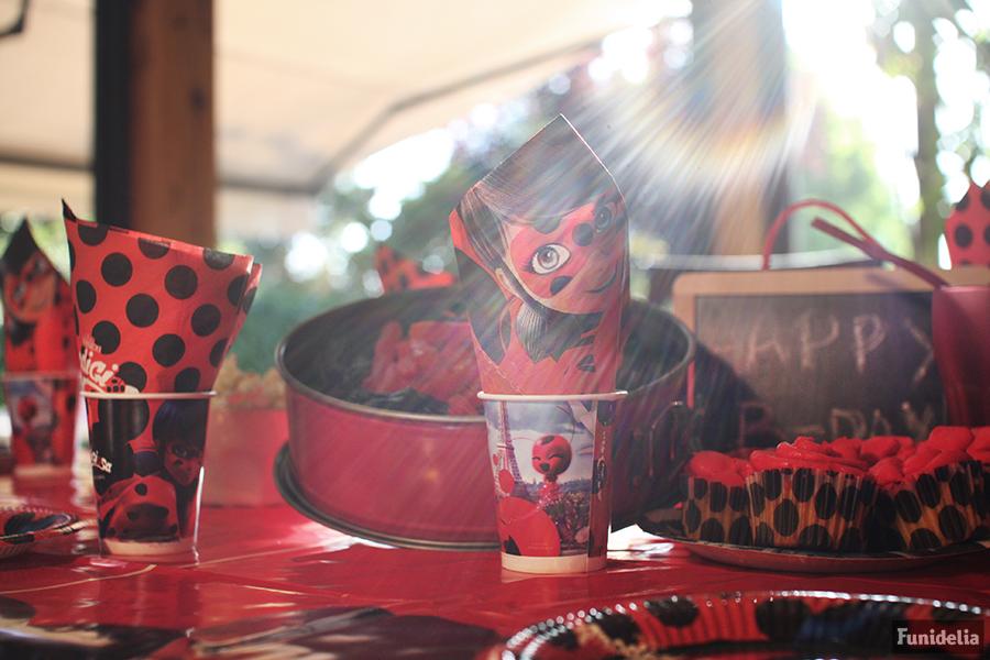 Decoración y menaje para cumpleaños Ladybug