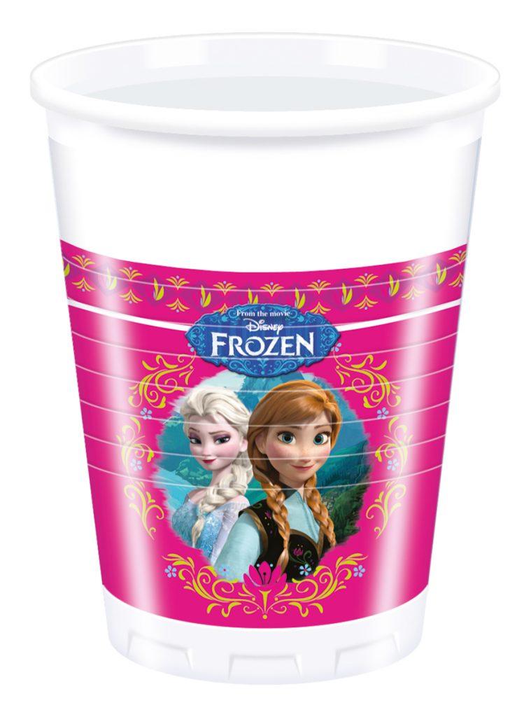 Vasos cumpleaños Frozen
