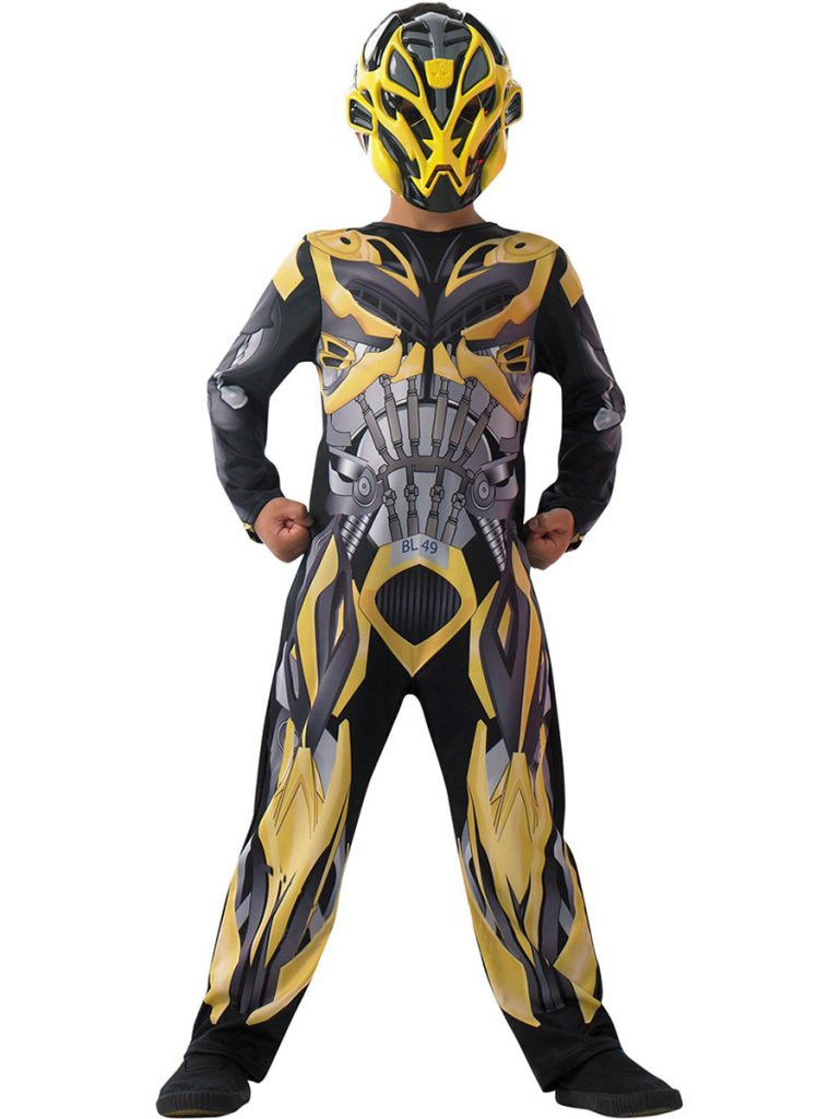 Disfraz de Transformers Bumblebee niño clasic