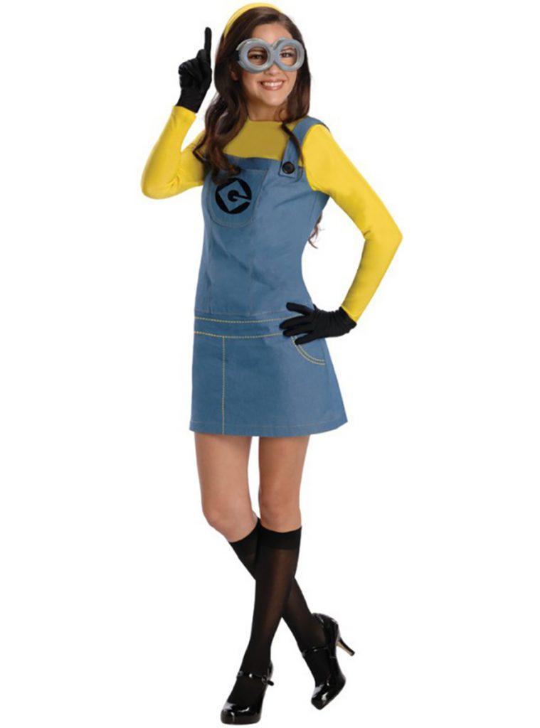 Disfraz de minion Dave para mujer