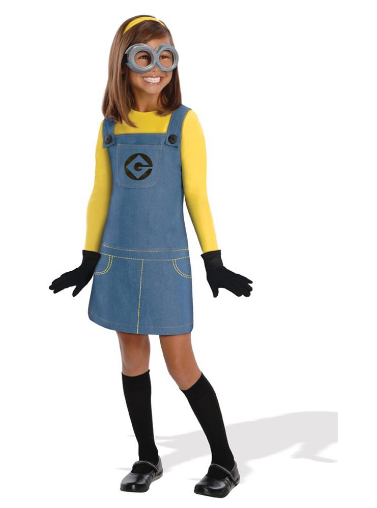 Disfraz de minion para niña Dave