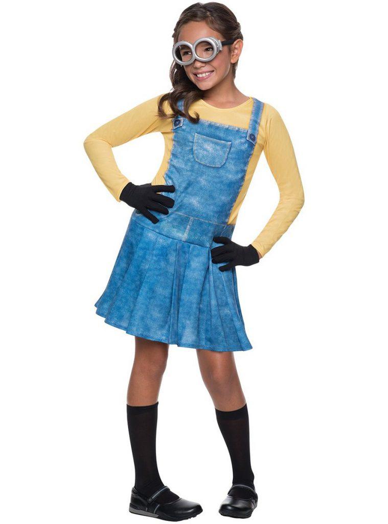 Disfraz de minion para niña