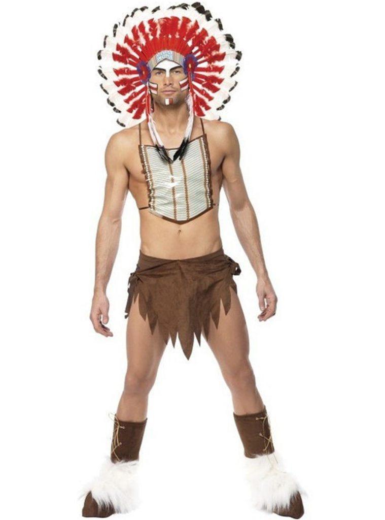 Disfraz Village People indio