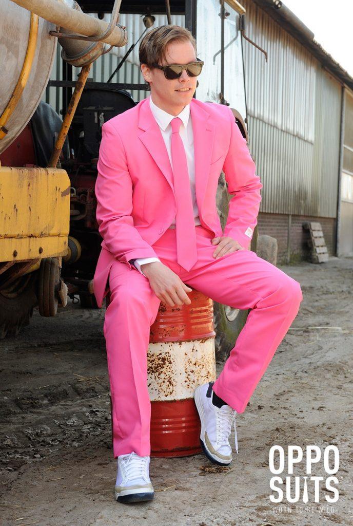 Traje opposuit Pink