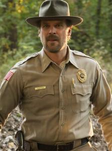 Jefe de policía Hopper - Stranger Things