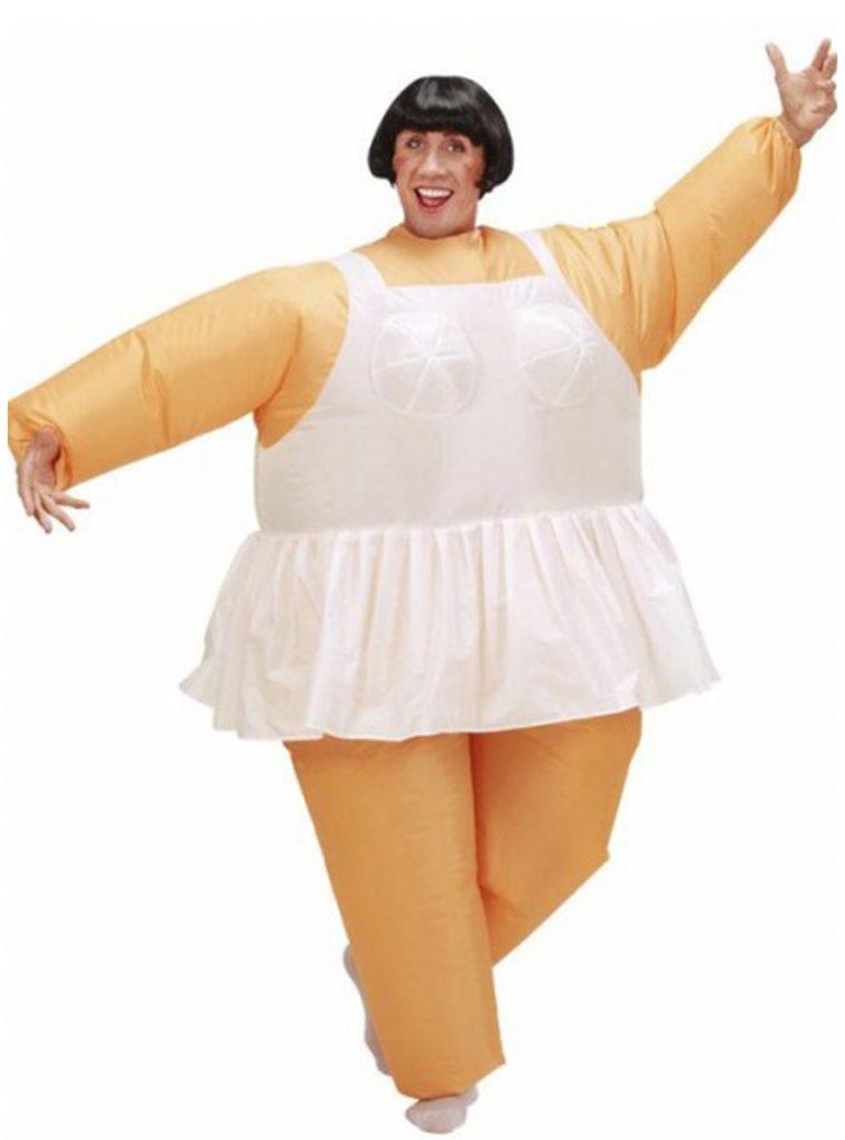 Disfraz hinchable de bailarina de ballet