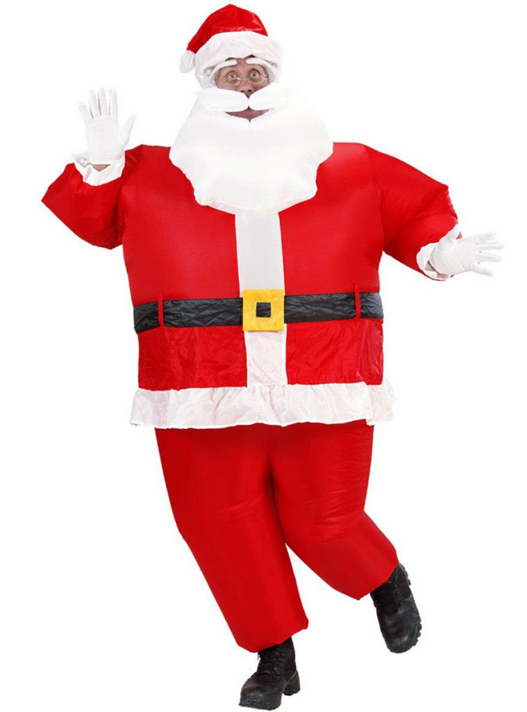 Disfraz hinchable de Papá Noel