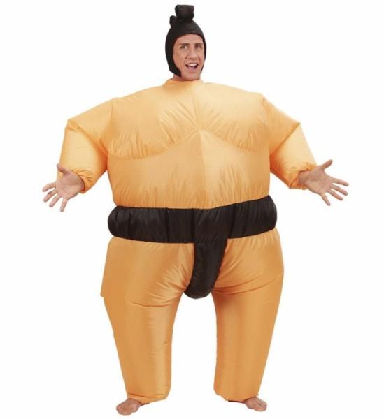 Disfraz hinchable de sumo para adulto