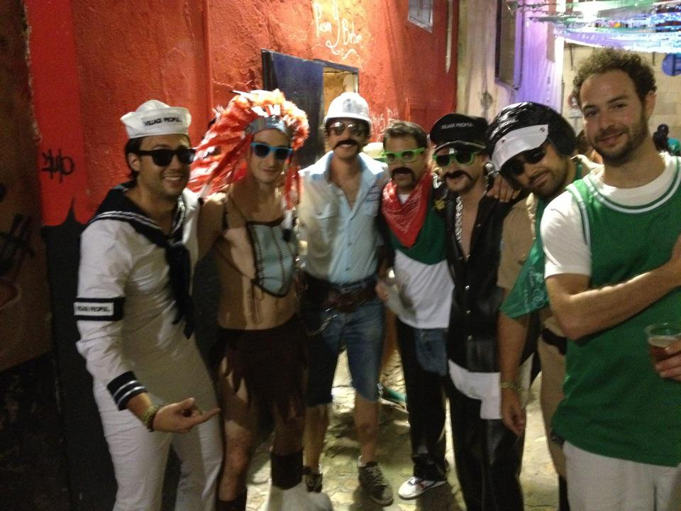 Disfraces de los 80 Village People