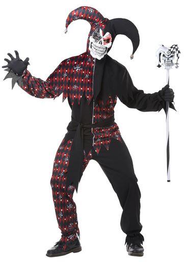 disfraz halloween bufon siniestro