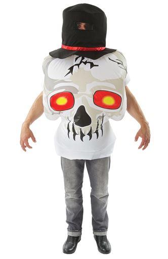 disfraz calavera hinchable halloween