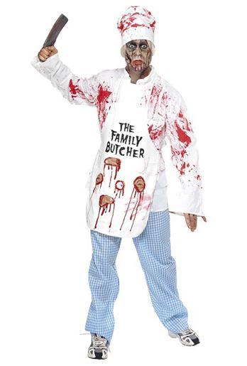 disfraz halloween cocinero -zombie