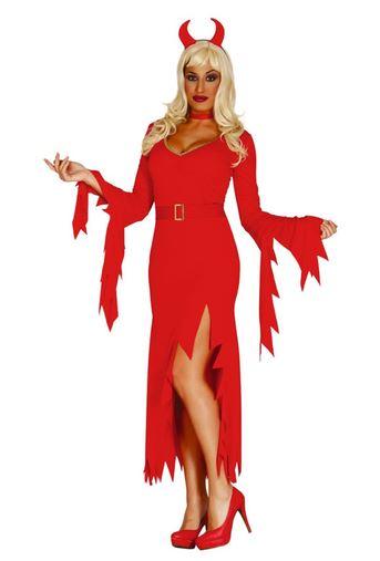 disfraz halloween diablesa