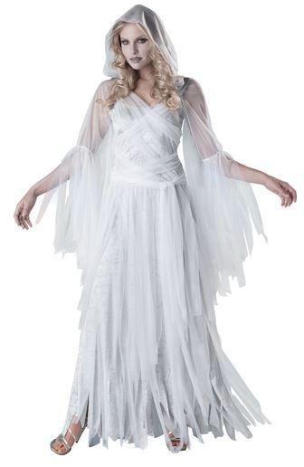 disfraz halloween fantasma elegante mujer