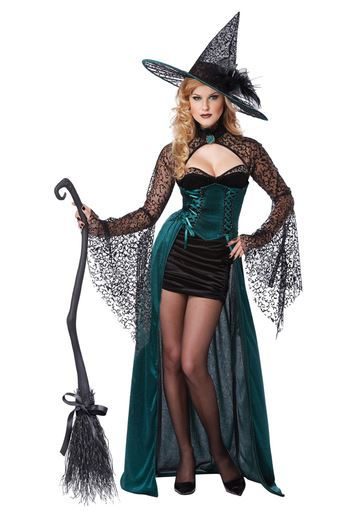 disfraz hechicera halloween